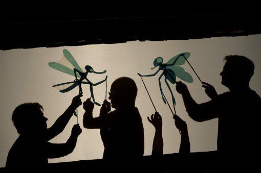 театр теней для детей в домашних условиях