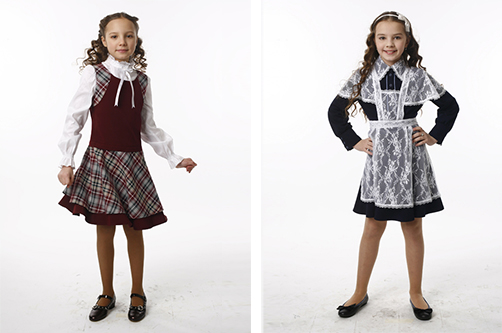 Школьная блузка для девочки 51