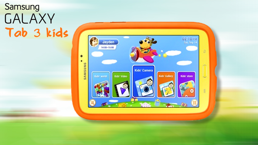 детский планшет для ребенка samsung galaxy tab 3 kids
