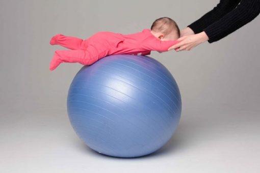 фитбол для малыша