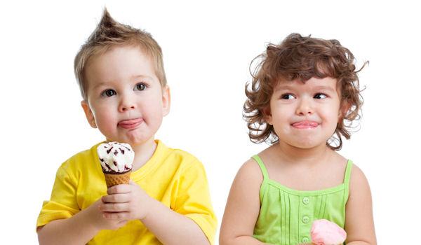 мороженое для детей