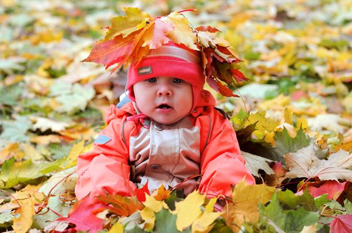 как провести осень с ребенком