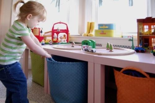как поддерживать порядок в детской комнате